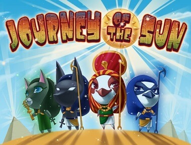 Journey of the Sun slot logo