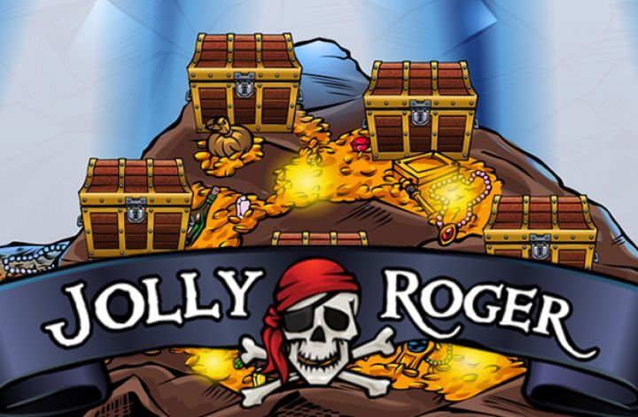 The Jolly Roger Slot logo
